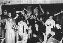 Die erfolgreichen Kabarettisten des Gymnasiums Siegesstraße