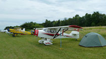 Flightline in Krems