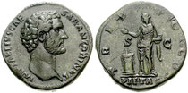Coin of Antoninus Pius from Wikipedia - generic