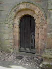 The Norman doorway