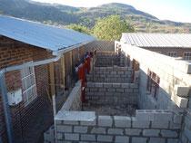 Baustelle neues Office