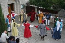 Animations médiévale à Ste Enimie