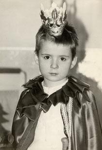 Prinz bei Dornröschenaufführung