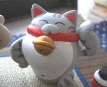 やる気のある招き猫 ¥1800