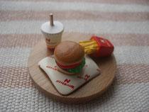ネコバーガー ¥700