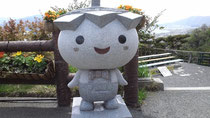 天の橋立イメージキャラクタ「笠坊」                         Photo by A.Umemoto