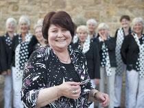 Osteuropäische Chorleiter gibt es immer mehr in Osnabrück. Iryna Slavina ist eine von ihnen.   Foto: Uwe Lewandowski
