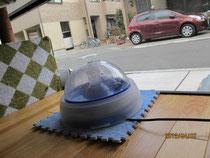 ネコちゃんの水飲み器