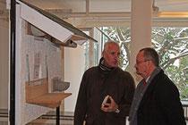 Hugo Schnur im Gespräch mit dem OB