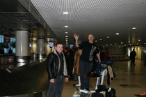 Мы почти дома! А Юрию еще на следующий день лететь к себе в Салехард.