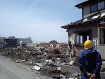宮城県石巻市(2011年5月)