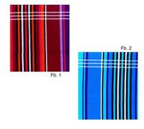 Baumwolltücher rot und blau