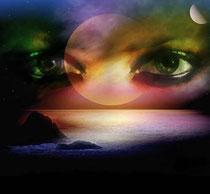 Eyes planet Earth