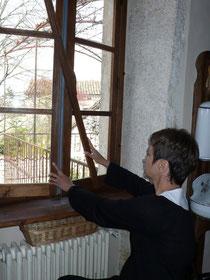 Ouverture facilité des fenêtres