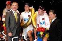Sieg beim 96. Berliner Sechstagerennen für Leif und Guido Fulst Foto: Karl Franke