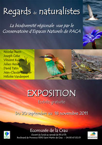 Expo Crau Regards de naturalistes CEN PACA