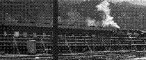 国鉄より新常総へ貸与されたC11けん引の買出し列車(S21頃・撮影地不明)