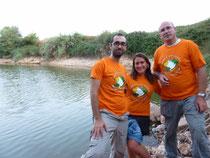 Voluntaris del Grup Au d'Ornitologia