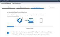 Software downloaden und Gerät aktualisieren