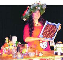 Astrid Gloria im Zaubertheater Sandkrug, Foto: Katharina Kunefke, Nordwest-Zeitung