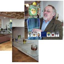 Theodor Sellner Studioglas in der CCAA GLASGALERIE KÖLN