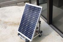 ポータブル太陽光発電