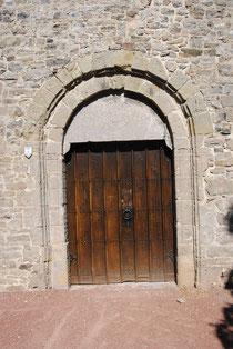 Porte de la chapelle Saint-Jean - Photo de Emilie Nisolle
