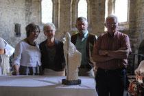 Photo Emilie Nisolle - La sculpture et leurs initiateurs