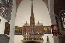 Retable de Notre-Dame de la Fontaine - Photo de Dolorès Ingels
