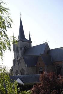 Eglise Saint-Martin de Chièvres - Par Emilie Nisolle