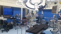 日本医大の新病院手術室