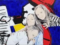 Portret van 3 meisjes