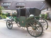 Hochzeitskutsche, Landauer
