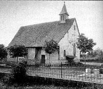 Alte Kirche Massenbach (um 1900)