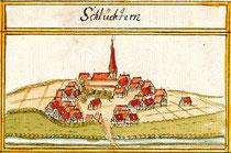 Schluchtern (um 1684 nach der Kieser´schen Forstkarte)