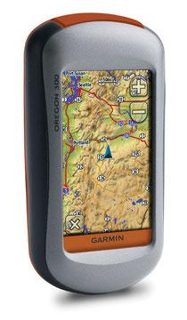 Un moderno GPS cartografico a colori