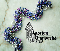 Lavender & Lilac Bright Aluminum Dragon Tail