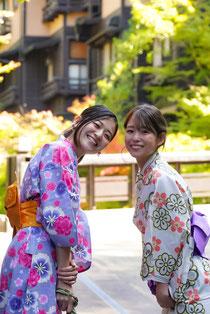 ユカタキドリ 可愛い浴衣で黒川温泉街を散策しませんか?