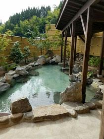 女性専用の露天風呂