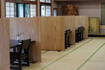 朝食会場の大広間
