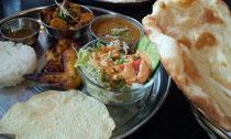 インド・ネパール ダイニング&カフェ ビレッジ:焼き立てのナンは、絶品!!