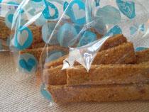 自家製マクロビクッキーをプレゼント