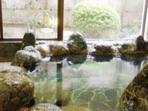 サンクチュエール平日限定プラン 岩風呂入浴