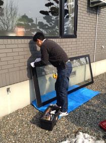 ガラス交換 高断熱仕様