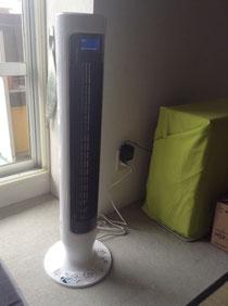日立 縦型扇風機