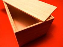 モミ材を使った木箱