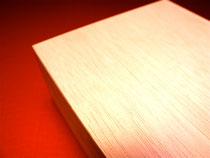 ファルカタ材で制作した木箱