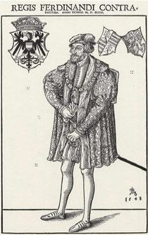 König Ferdinand im Jahre 1548