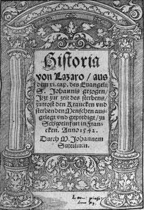 Historia von Lazaro - Sutellius