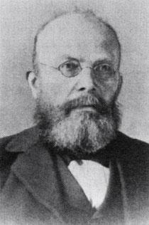 Valentin Völcker, der erste Schulleiter 1878 - 1898